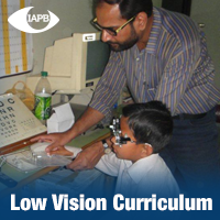 Low Vision curriculum cover page